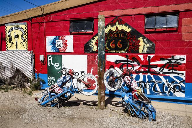 January 1, 1970: Seligman, Arizona, Historic Route 66, United States