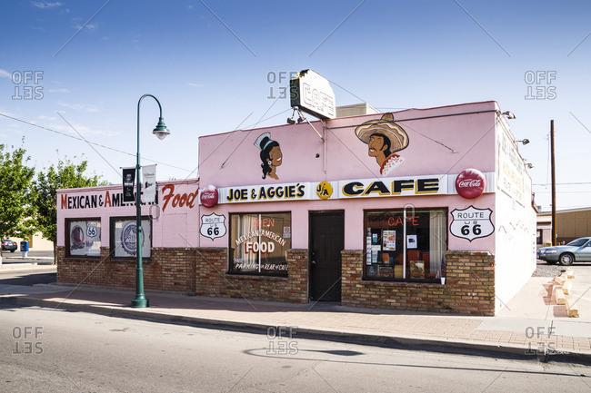 January 1, 1970: Joe & Aggies Cafe, Holbrook, Historic Route 66, Navajo County, Arizona, USA