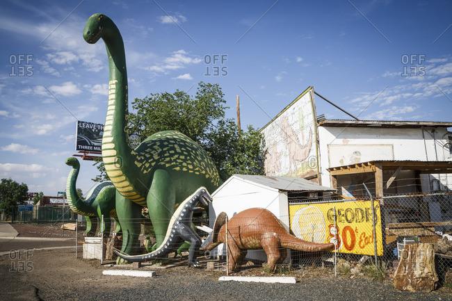 January 1, 1970: Holbrook, Historic Route 66, Navajo County, Arizona, USA