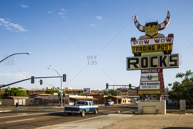 January 1, 1970: Holbrook, Historic Route 66, Navajo County, Arizona, USA