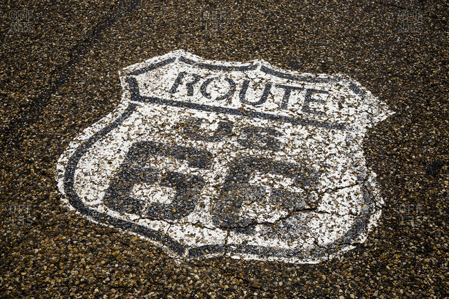 Midpoint, Historic Route 66, Texas, USA