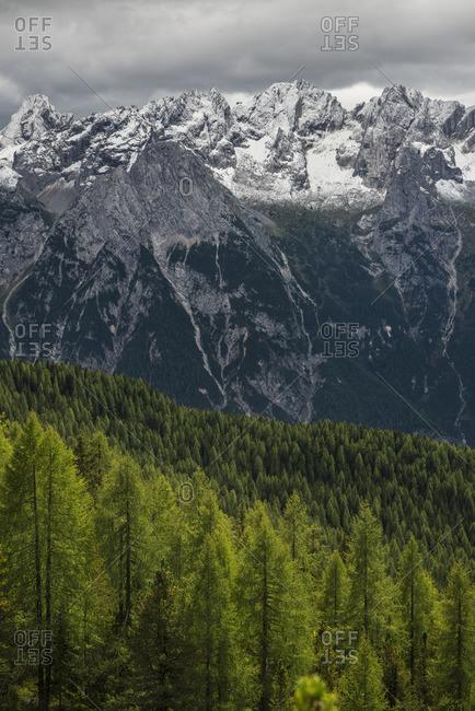 Marmolada group, Dolomites, South Tyrol, Italy