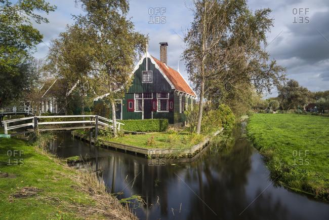 January 1, 1970: Zaanse Schans, Zaanstad Municipality, Holland, The Netherlands