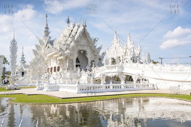 Wat Rong Khun Temple, Chiang Rai, Thailand