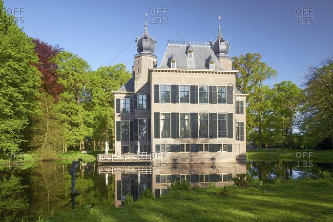 May 3, 2018: Landgoed Kasteel Oud-Poelgeest in Leiden, South Holland, Netherlands