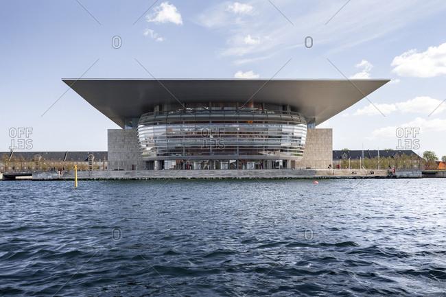 January 1, 1970: Royal Opera House, National Opera at the inner Canal, built by Henning Larsen, Holmen, Copenhagen, Denmark