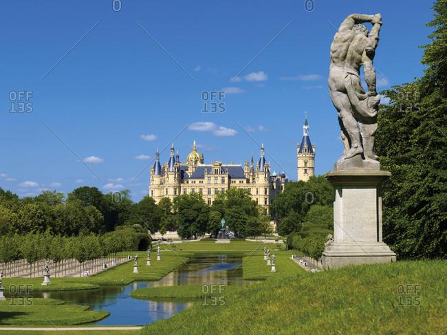 June 27, 2011: Schwerin Castle, Mecklenburg-Vorpommern, Germany