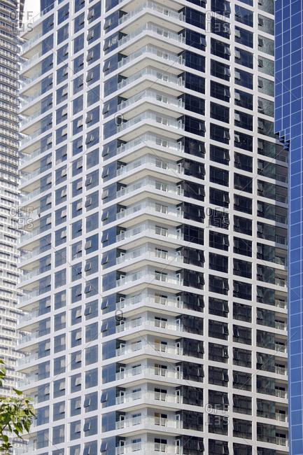 November 29, 2010: Office building, Abu Dhabi, United Arab Emirates