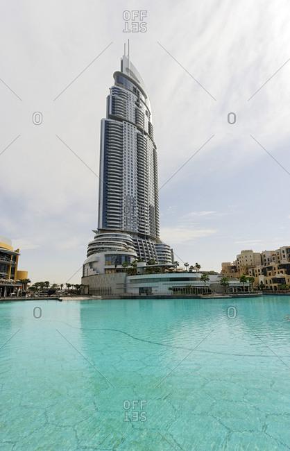 February 2, 2010: The Address Luxury Hotel, Dubai, United Arab Emirates