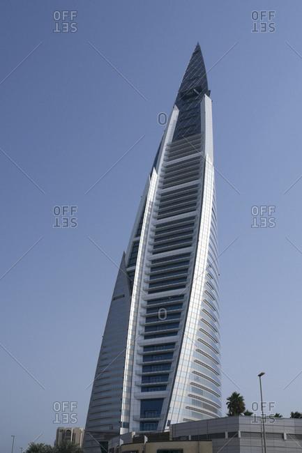 December 14, 2012: World Trade Center Complex, Manama, Kingdom of Bahrain, Persian Gulf
