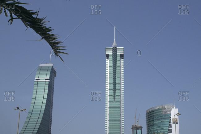 December 14, 2012: Financial Harbor Complex, Manama, Kingdom of Bahrain, Persian Gulf