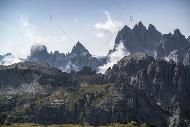 Tre Cime di Lavaredo, Tre Cime Natural Park, Dolomites, South Tyrol, Italy