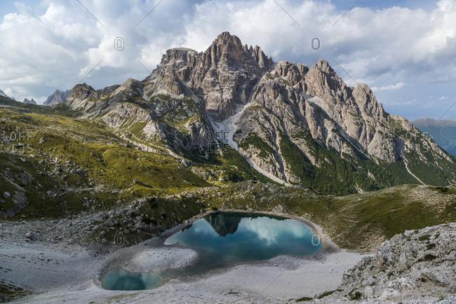 Paternkofel Circuit, Crodon di San Candido, Three Peaks National Park, Dolomites, South Tyrol, Italy