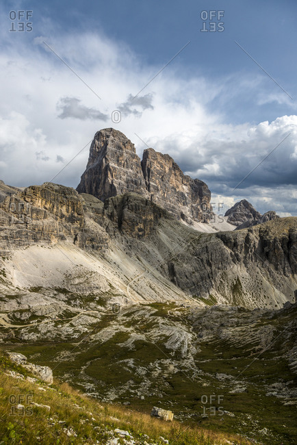 Zwolferkofel, Natural Park Drei Zinnen, Dolomites, South Tyrol, Italy