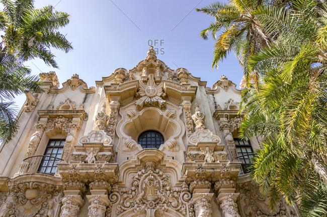 July 4, 2017: Casa del Prado, Balboa Park, San Diego, California, USA