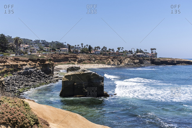 Dream Beach, La Jolla, San Diego, California, United States