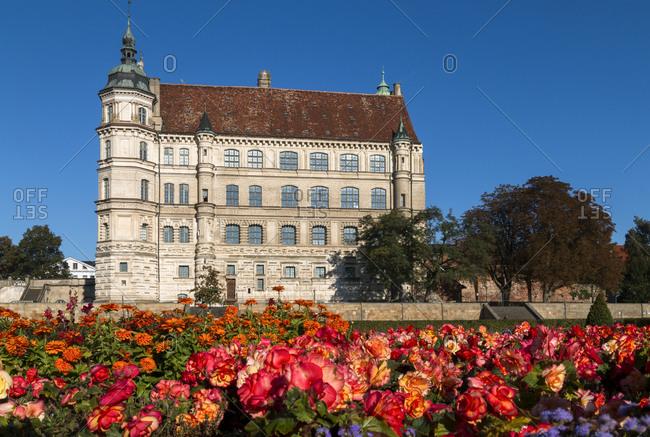 Schloss Gustrow in Mecklenburg-Vorpommern, Germany