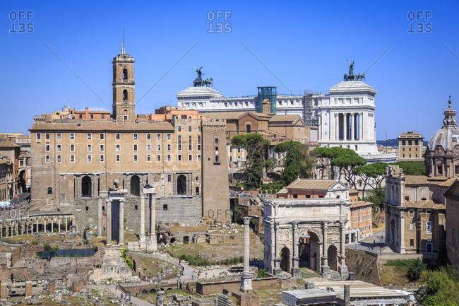 August 3, 2016: Roman Forum, Rome, Lazio, Italy