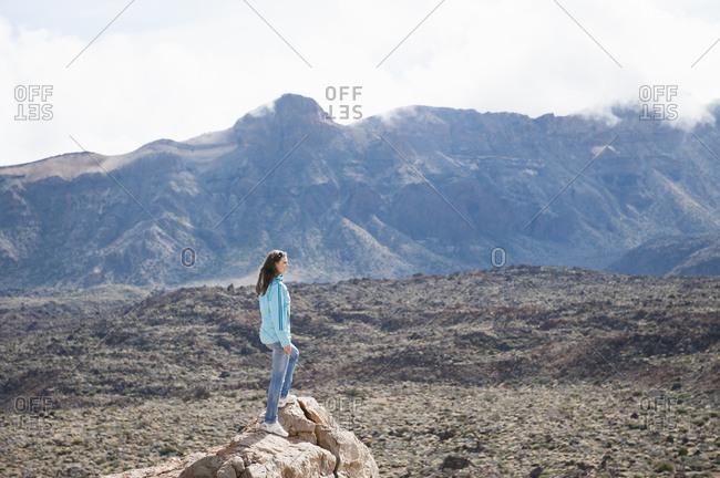Female hiker- Tenerife- Balearic Islands- Spain