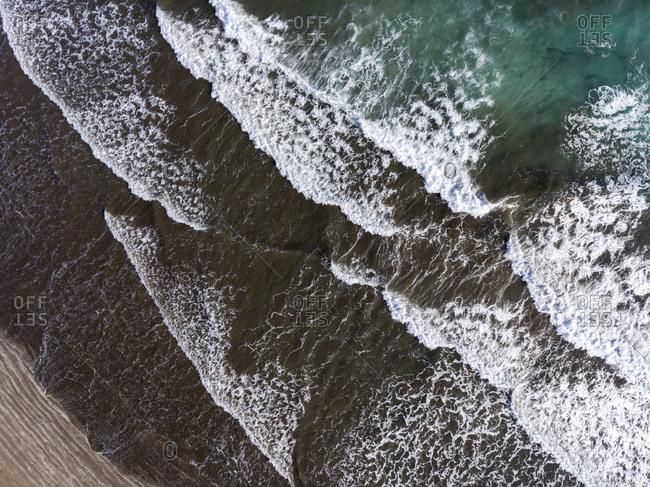 Atlantic Ocean from the bird's eye view