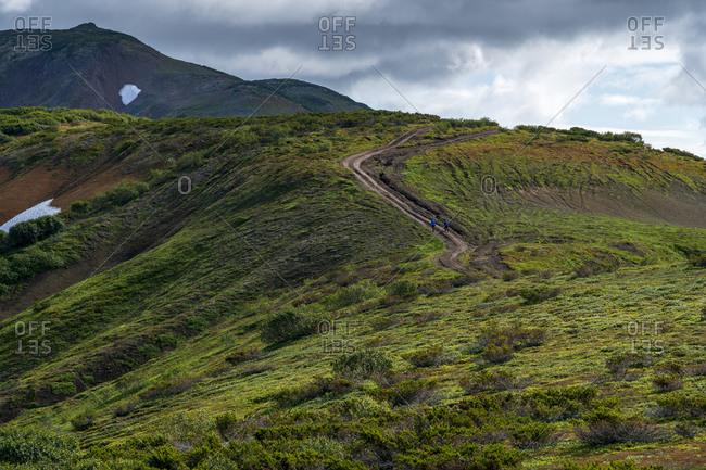 Mountain landscape, Kamchatka Peninsula, Russia