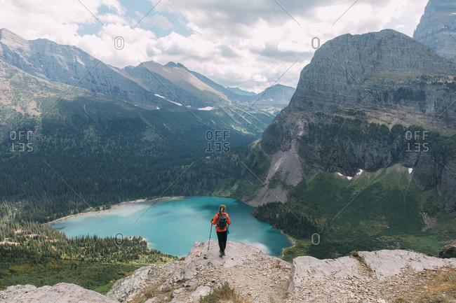 Shot of Glacier National Park