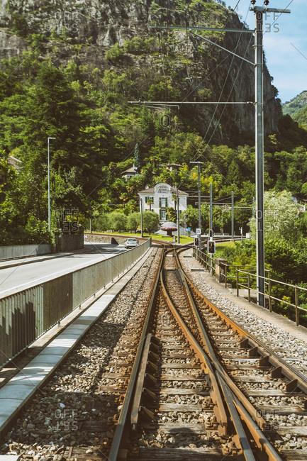 Switzerland, Ticino, Valle Verzasca - July 17, 2017: Valle Verzasca in the south of Switzerland in summer