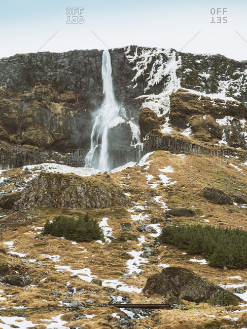 The Snaefellsnes Peninsula national park