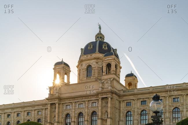 Austria, Vienna, Vienna - May 19, 2017: Kunsthistorisches Museum Wien ,art history museum in Vienna