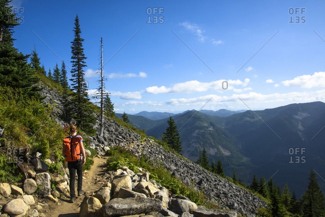 Hiking in the Cascade Mountains