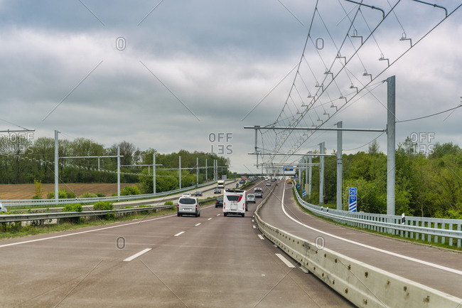 Test track on A1- eHighway