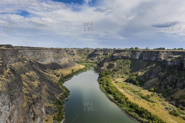 USA- Idaho-Twin Falls-Snake River Plain