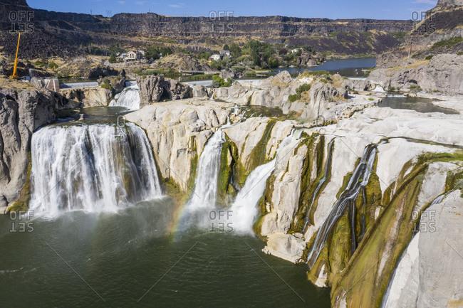 USA- Idaho-Twin Falls- Shoshone Falls on Snake River