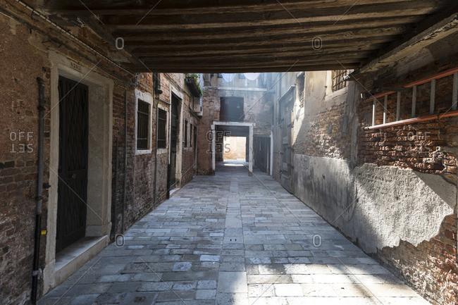 Alleyway, Venice, Italy landscape image