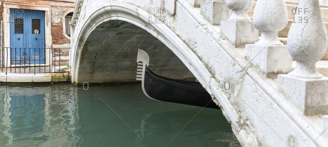Gondola, Venice, Italy landscape image