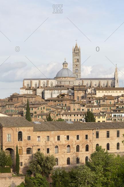 Siena, Tuscany, Italy landscape image