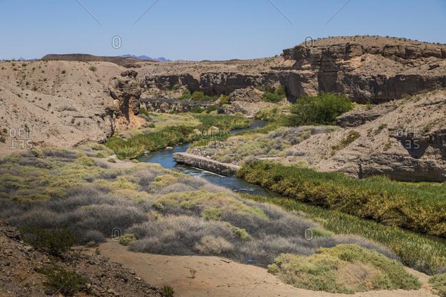 Colorado River, Nevada, USA landscape image