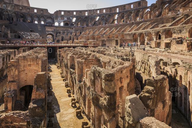 Colosseum, Rome, Lazio, Italy landscape image