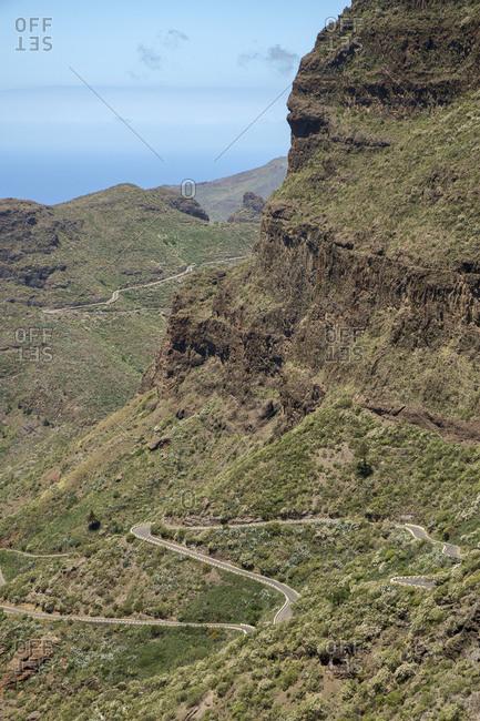 Teno Mountains, Tenerife, Spain landscape image