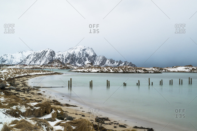 Coast at Andenes, Vesteralen, Norway