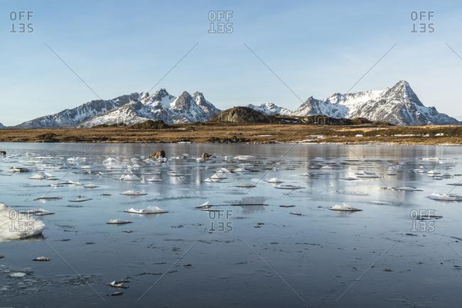 Gavlfjorden, Gislya, yksnes Vesteralen, Norway