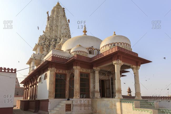 Jaintempel Bhandhasar, Bikaner, Rajasthan, India
