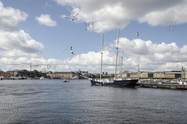 Skeppsholmen, harbor, Stockholm, Sweden, Europe