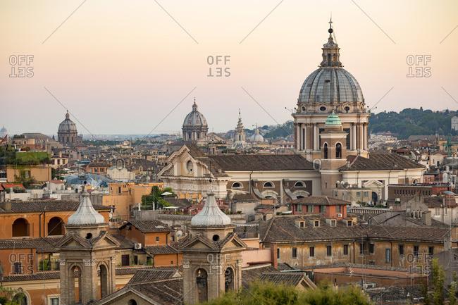 View over Rome, Lazio, Italy