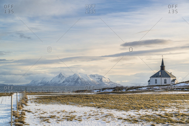 Dverberg Church, Andoya Island, Vesteralen, Norway
