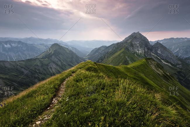 Hofats, Allgau Alps, Bavaria, Germany, Europe