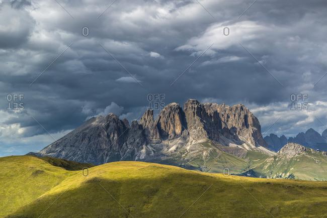Langkofelgruppe, Fassatal, Dolomites, South Tyrol, Italy