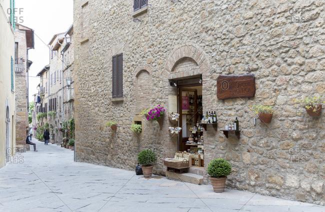 May 10, 2014: Pienza, Tuscany, Italy