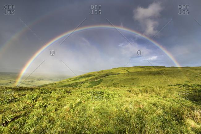 Rainbow, Scotland, England, United Kingdom, Europe