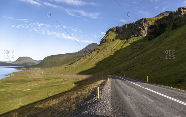 Road on the Snaefellsnes peninsula, Iceland